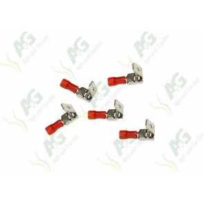 Red Lucar M/F Terminal 6.4mm