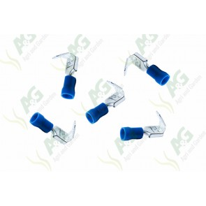 Blue Lucar M/F Terminal 6.4mm