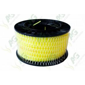 Std Round Strimmer Line 3.0mm Yellow 169M