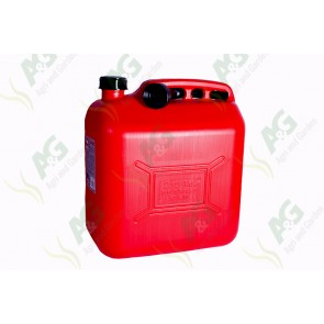Plastic Fuel Can ;Red 20 Litre