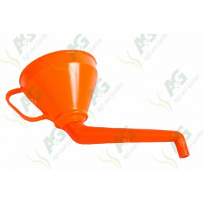 Funnel Plastic 160mm Angled Spout