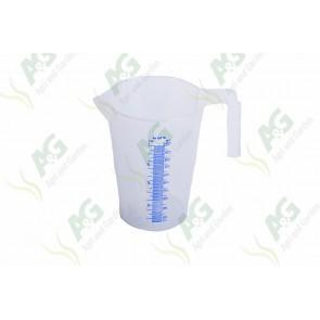 Calibrated Liquid Measure Plastic 1 Litre