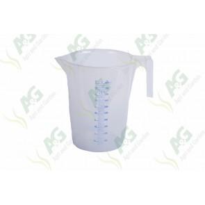 Calibrated Liquid Measure Plastic 5 Litre