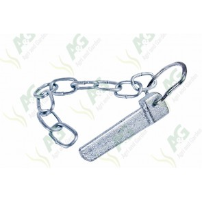 Cotter Pin And Chain Spring Loaded