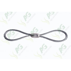 Unbraked Safety Looped Cable