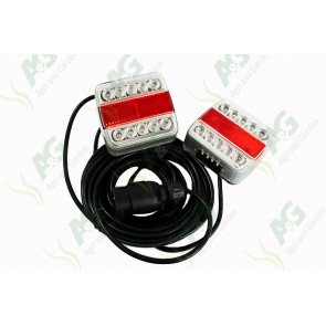 Magnetic Lamp Set Led Complete With White Indicator Lens
