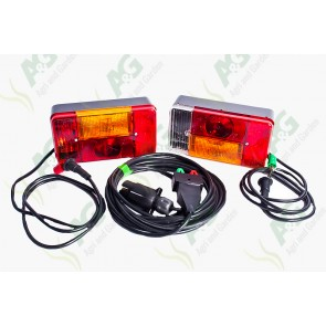 Lamp Set Ready Wired 5 Metre Cable