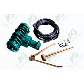 Pto Air Compressor Twin Cylinder