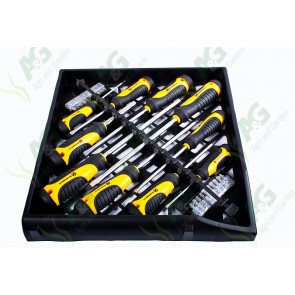 Screwdriver/Bit Set 30Pcs