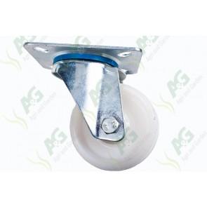 Castor Nylon Swivel Plate 3 Inch