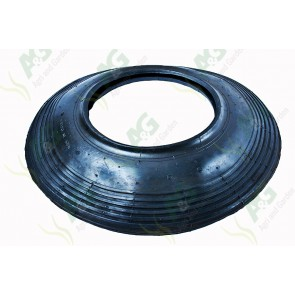 Single Ribbed Tyre;400X4X4