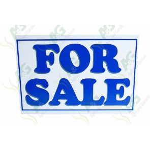 Sing : For Sale 550 X 460 mm - Plastic