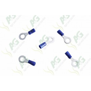 Blue Ring Terminal 6mm