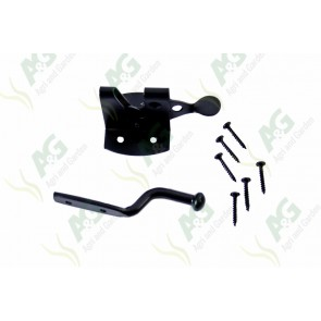 Auto Gate Latch Black