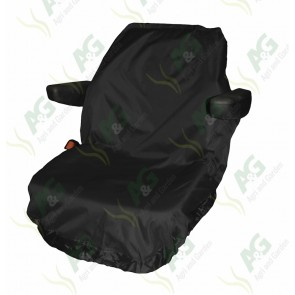 Seat Cover; Tractor Large Black