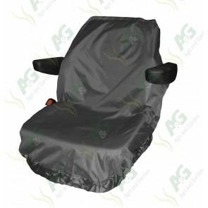 Seat Cover; Tractor Large Grey