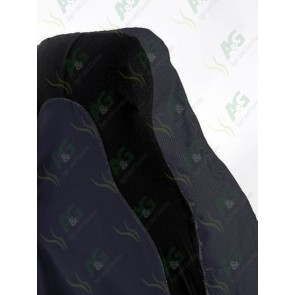 Seat Cover; 3D Stretch Front Blue