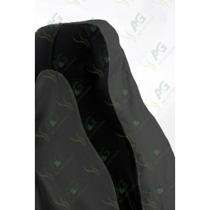 Seat Cover; 3D Stretch Front Grey