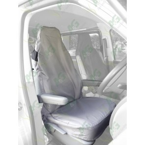 Seat Cover; Air Bag Compatible Grey
