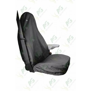 Seat Cover; Transit Single Black