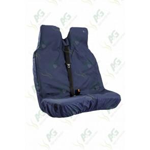 Seat Cover; Van Double Blue